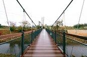 平鎮新光吊橋竣工 留存老街溪記憶
