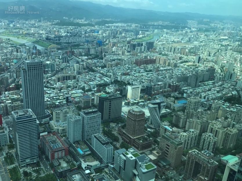 台北市地政局公布最新數據,2019年10月份住宅價格指數103.16,比前一個月上升1.00%。照片好房網News記者李彥穎攝