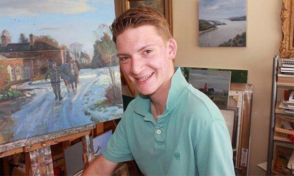Kieron Williamson現已是16歲的青少年。圖擷自Eastern Daily Press
