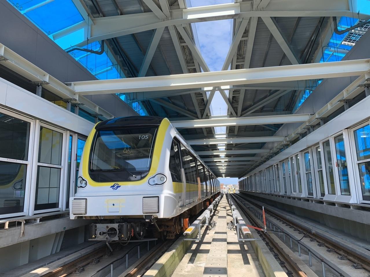 捷運新北環狀線第一階段預計今年底通車。 圖/聯合報系資料照片