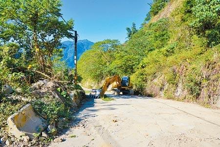 雲縣上億元修復149甲線,重現古坑觀光榮景。圖/記者張朝欣攝影