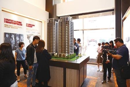 遠雄建設台南新案「遠雄頂美」開出紅盤,一個半月即銷售六成;規劃六年至少推出六大案,總銷達144億元。圖/遠雄房地產公司