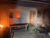 點菸竟造成屋毀人重傷 疑因地下天然氣被點燃