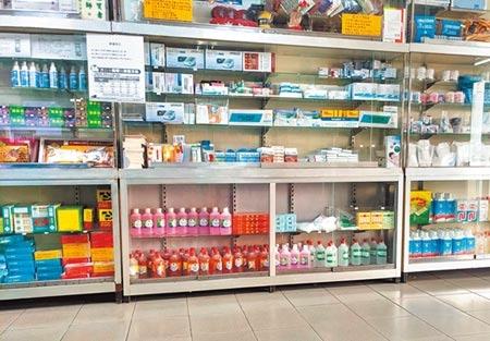 醫藥界擔心新冠肺炎疫情使得國際原物料斷鏈,會影響藥品供應,第一線的藥局可能首當其衝,希望政府拿出辦法因應。(莊曜聰攝)