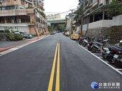 北市南深路19巷換新裝 小巷道變美觀好通行