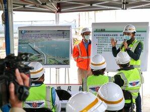 淡江大橋4月中旬現雛形 業者看好帶動房市、建材動能
