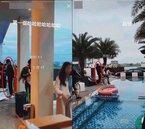 羅志祥泳池別墅開趴 約20幾個女直播主嗨玩影片流出