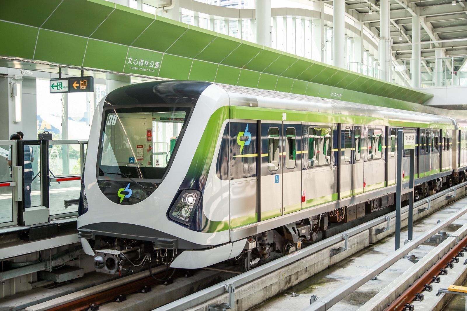 台中捷運綠線力拚今年底通車。圖/台中市交通局提供