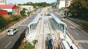 萬大中和線、安坑輕軌 封路施工