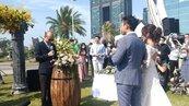 高市打造愛情產業鏈 推遊艇婚禮專案