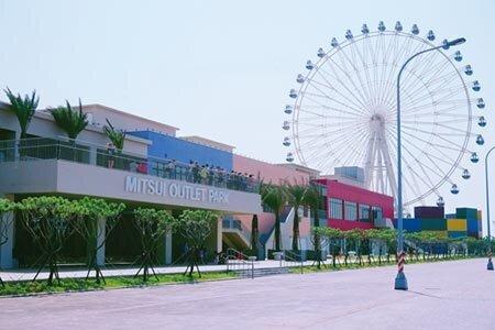 台中港三井OUTLET PARK,2019年吸客逾800萬人次,使得鄰近的清水區房市能見度大開。圖/曾麗芳