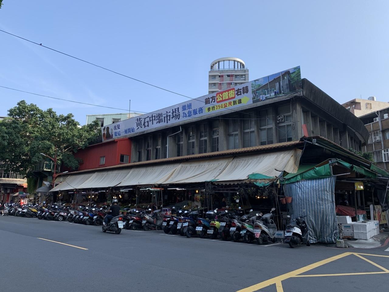 有50年歷史的新北市板橋黃石市場,113攤要原址拆除重建。記者魏翊庭/攝影