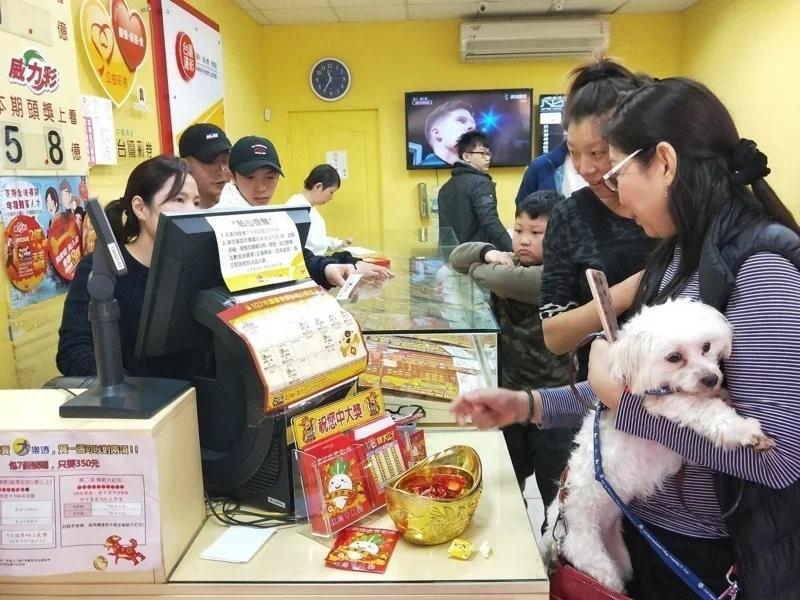 台彩10日晚間表示,威力彩頭獎4.65億元在台北市南港區開出,一人獨得。圖/聯合報系資料照