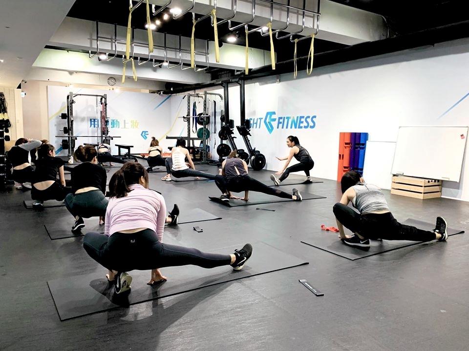 「輕適能」運動空間主打女性專屬健身。圖/摘自輕適能官方臉書粉絲專頁