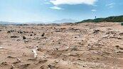 老梅綠石槽 海漂垃圾殺風景