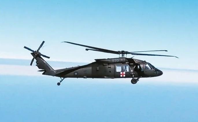 失事墜毀的933號UH-60M直升機。圖/聯合報系資料照片
