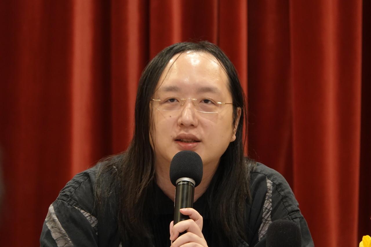 政務委員唐鳳。記者張文馨/攝影