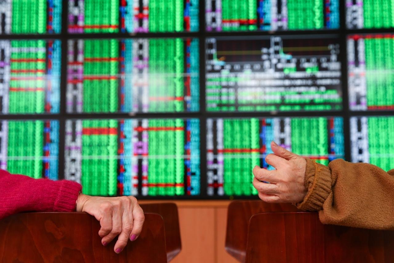台股守住5日線收跌52.19點。 示意圖/聯合報系資料照片