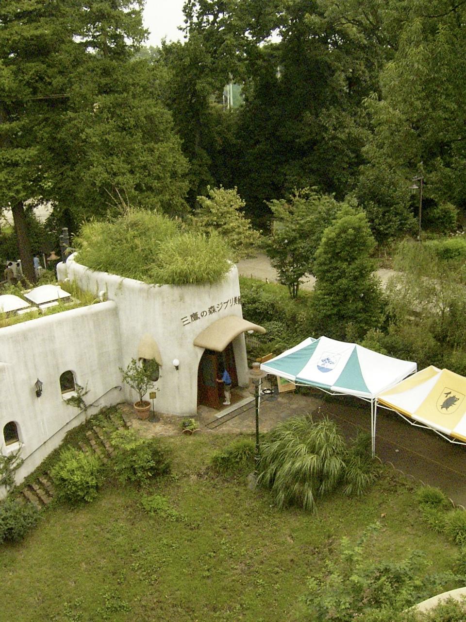吉卜力美術館宣布臨時休館。圖/摘自維基百科