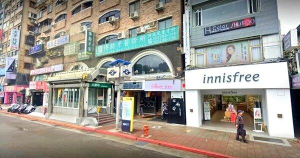 陳時中妻子孫琬玲投資位在捷運公館站的「博齡牙醫診所」。圖/google map
