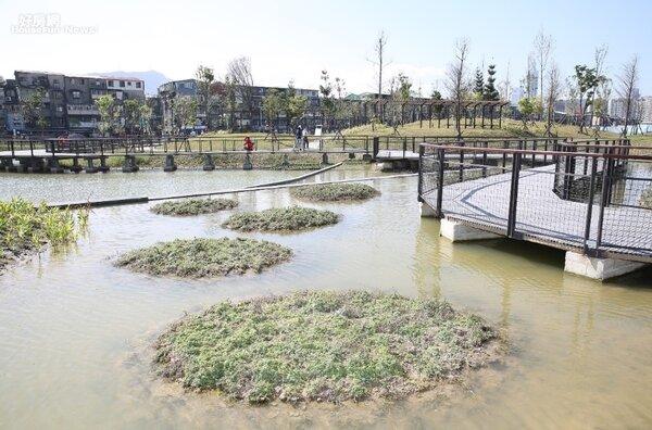 南港的「新新公園」2月26日正式啟用。照片台北市政府提供