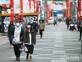 疫情衝擊觀光 西門町人潮驟減