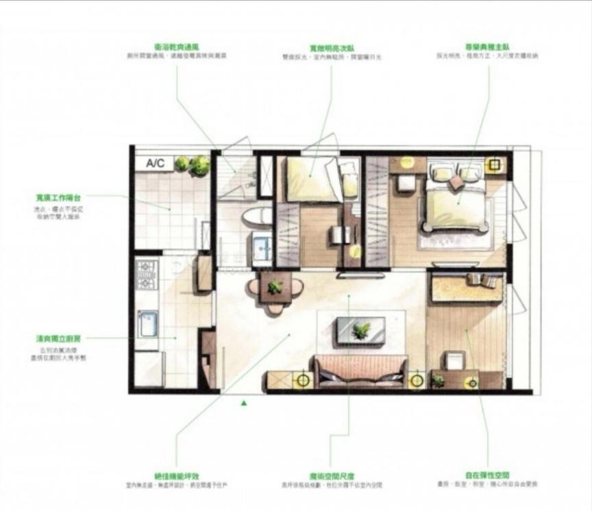 有網友想買小宅用玻璃隔間多隔出1間房,網友勸她「生1個就好」。圖/摘自PTT