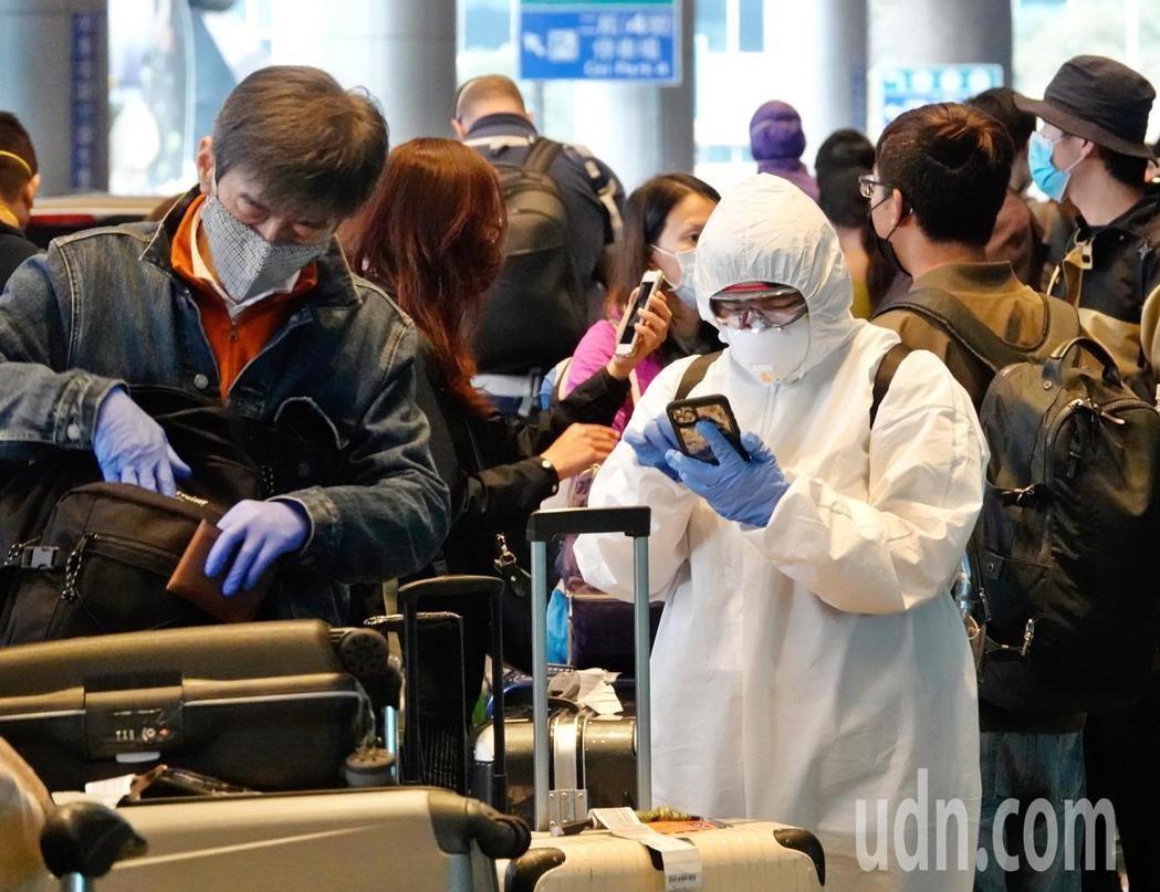 全球新冠肺炎疫情大爆發,旅外國人紛紛回國。本報系資料照片