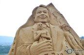 2013福隆國際沙雕藝術季 李安左擁少年Pi右握小金人讓人驚艷