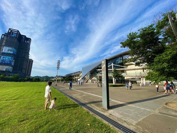 位在竹北的高鐵新竹站附近是新竹房市主戰場。好房網News記者楊欽亮/攝