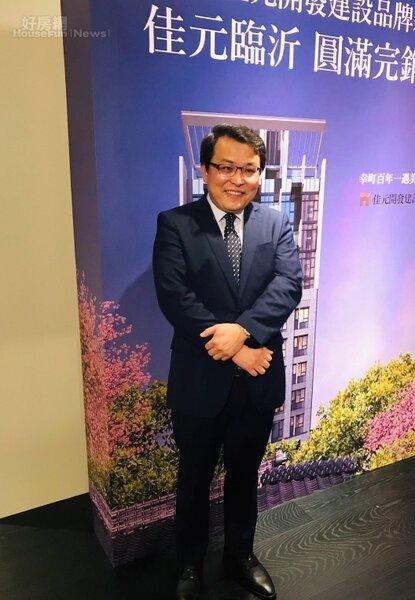 佳元開發建設總經理蔡錫全。好房網News記者李彥穎攝