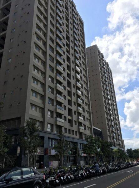 A7合宜住宅1戶19樓將法拍,包括2房及地下平面車位,預計會很搶手。圖/桃園分署提供