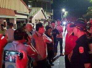 台南鹽水民宅火警一死3人搶救中
