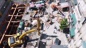 永和文化路地面塌陷 應變中心督促建商3天復原