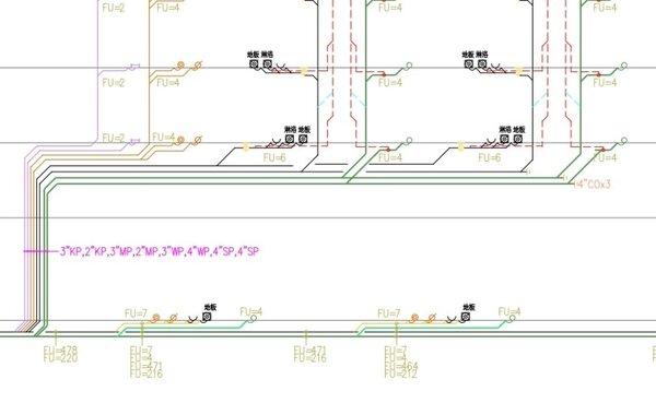 不少建案都會將2樓戶設置獨立管線。圖/取自PTT