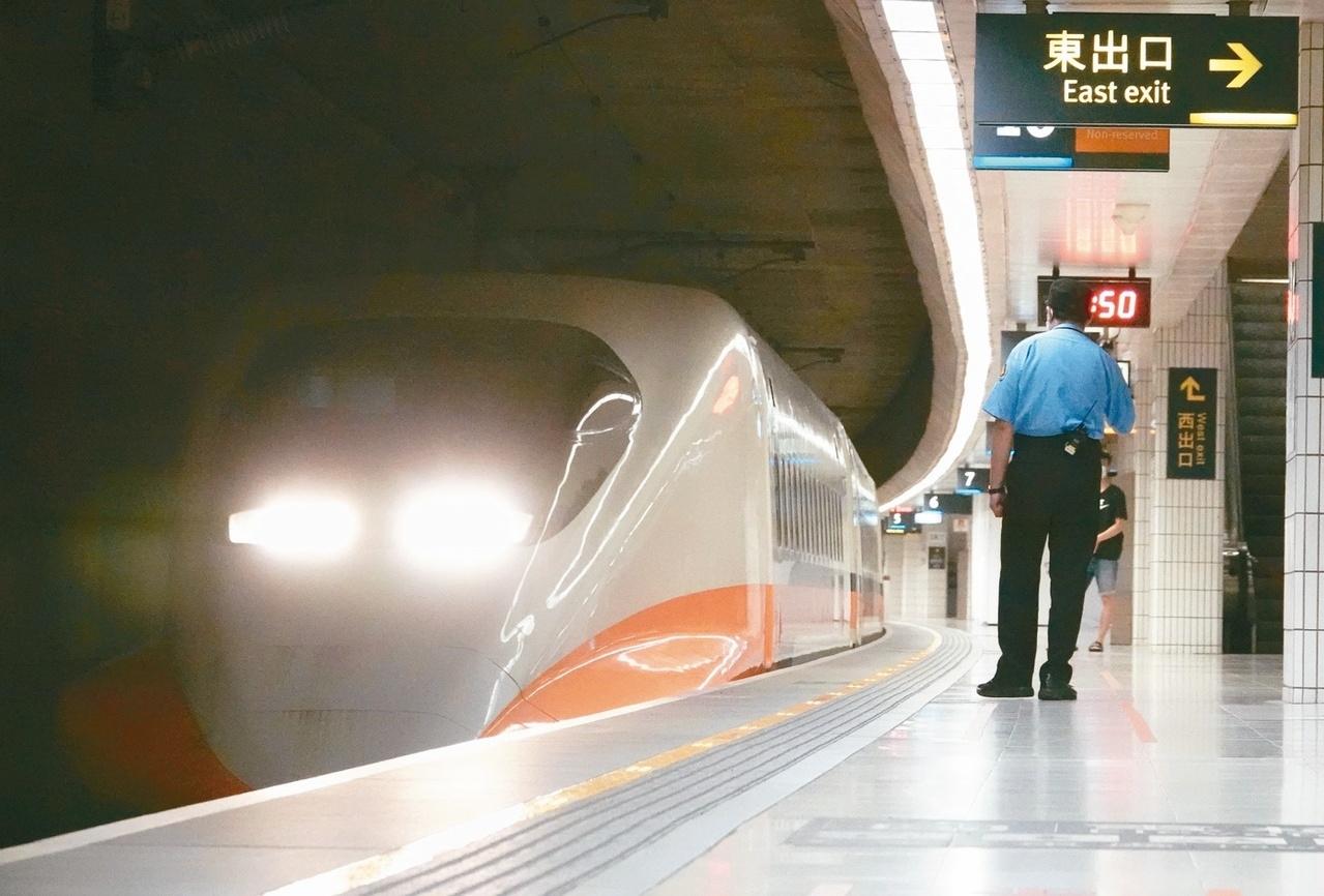 台灣高鐵今年前五月旅客載客量大幅減少。圖/聯合報系資料照片