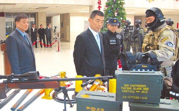 全球最大數據庫「Numbeo」公布最新全球治安排名,台灣為全球第二安全、犯罪率倒數第2低的國家。圖為刑事局巡視裝備/翻攝照片