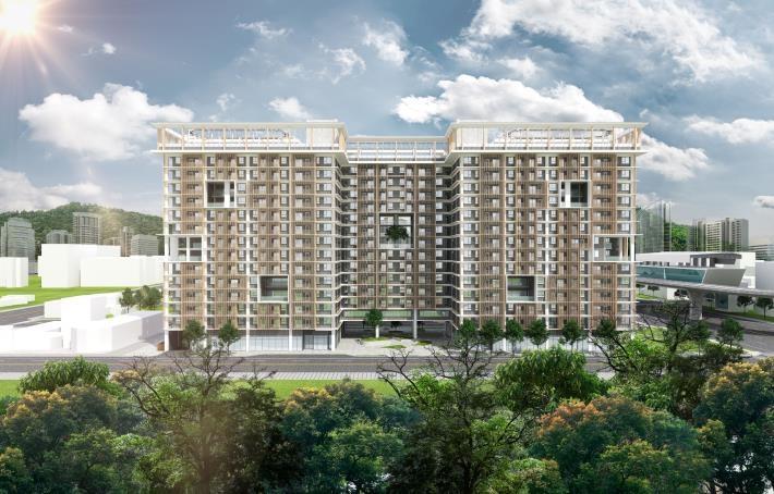 台南第一批社宅將於2023年完工。圖/台南市政府提供