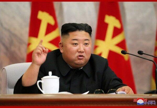 金正恩在神隱逾3周後,親自主持中央軍委會第四次擴大會議。   圖/翻攝自KCNA