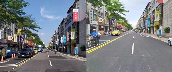 酒泉街。圖/臺北市政府工務局新建工程處提供