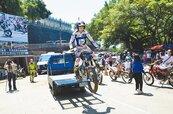 亞洲車神接班人 勤練單車走鋼索