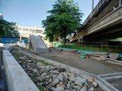 碧綠大樹為意象 汐止城中抽水站空地打造共融式遊戲場