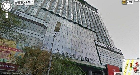 京站大樓內藏有3家地下經營的日租套房,不僅旅客住得危險,也造成治安問題。(圖/擷取自Goole Map)