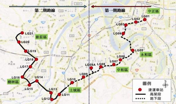 新北捷運局已函請台北捷運局,欲把全線在新北境內的「新北樹林線(萬大線第二期)」拿回來自己蓋。圖/台北捷運局提供