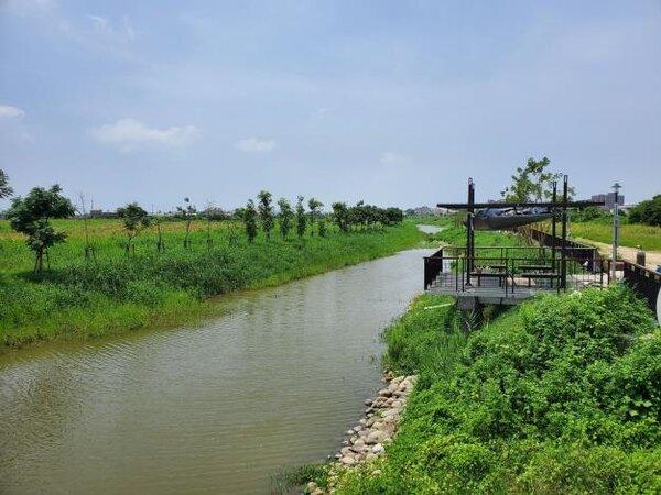 台南市「鹽水月津港水環境改善計畫」獲得本屆河川類唯一金蘋果獎。圖/台南市政府提供