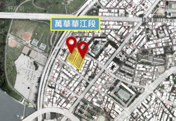 國家住都中心宣布,萬華2塊基地興建的社宅,將採用「預鑄工法」。圖片國家住都中心提供