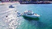 搬棟房子到海上 租遊艇遊龜山島藍色牛奶海很熱門