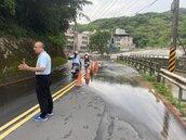 基隆中和路爆管淹水 6000戶一度停水
