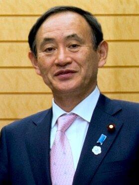 日本內閣官房長官菅義偉,可望在16日接任首相安倍晉三,成為日本新任首相。圖/取自維基百科