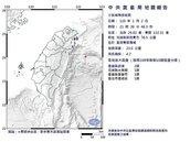 地牛翻身!21:26規模4.7地震 最大震度2級北部也有感